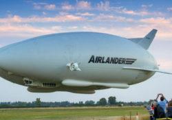 Airlander poprvé vzlétl